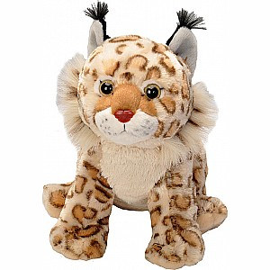 Bobcat Stuffed Animal - 12""
