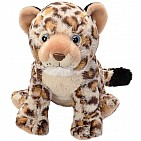 Leopard Cub Stuffed Animal - 12""