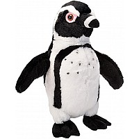 Black Footed Penguin Stuffed Animal - 12""