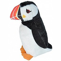 Audubon II Atlantic Puffin Stuffed Animal  - 5""