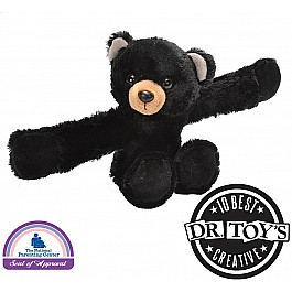 Huggers Black Bear Stuffed Animal - 8""