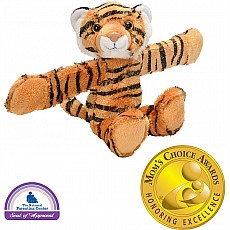 Huggers Tiger Stuffed Animal - 8""