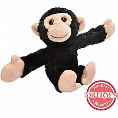 Huggers Chimp Stuffed Animal - 8""