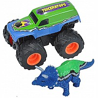 Mini Truck and Triceratops Adventure Set