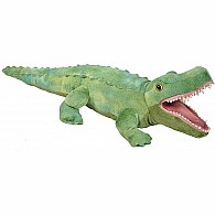 Alligator Stuffed Animal with teeth - 23""
