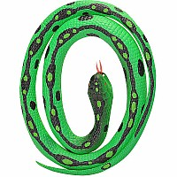 Green Garter Rubber Snake - 46""