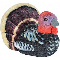Audubon II Wild Turkey Stuffed Animal with Sound - 5""