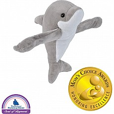 Huggers Dolphin Stuffed Animal - 8""