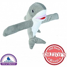 Huggers Great White Shark Stuffed Animal - 8