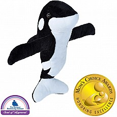 Huggers Orca Stuffed Animal - 8""