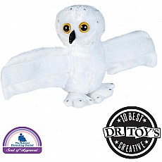 Huggers Snowy Owl Stuffed Animal - 8