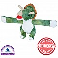 Huggers Triceratops Stuffed Animal - 8""