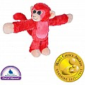 Huggers Red Monkey Stuffed Animal - 8""