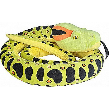 Anaconda Snake Stuffed Animal - 110""