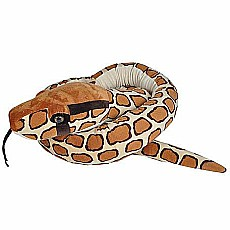 Burmese Python Snake Stuffed Animal - 110""