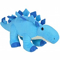 Baby Dino Stegosaurus Stuffed Animal - 8""