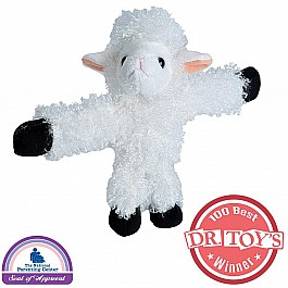 Huggers White Lamb Stuffed Animal- 8""