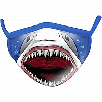 Shark Wild Smiles Adults Face Mask