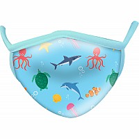 Aquatic Wild Smiles Childs Face Mask