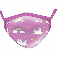 Unicorn Wild Smiles Childs Face Mask