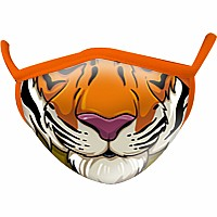 Tiger Wild Smiles Childs Face Mask