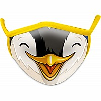 Penguin Wild Smiles Child Face Mask