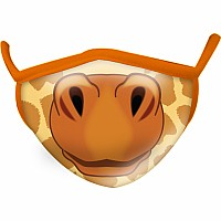 Giraffe Wild Smiles Childs Face Mask