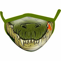 Crocodile Wild Smiles Childs Face Mask