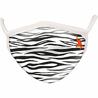 Zebra Wild Smiles Adults Face Mask