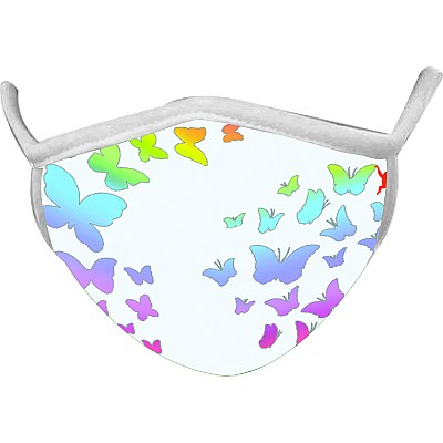 Butterfly Wild Smiles Adults Face Mask