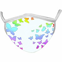 Butterfly Wild Smiles Childs Face Mask