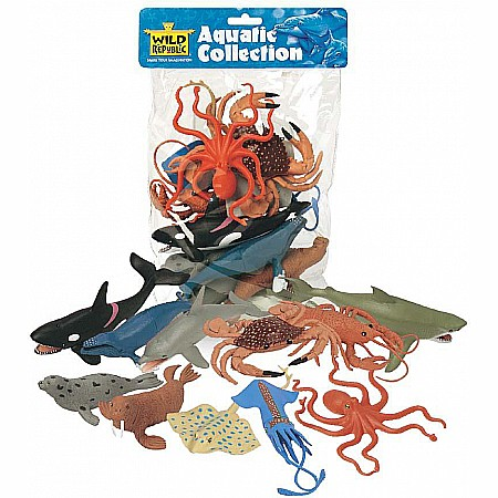 Polybag of Aquatic Figurines