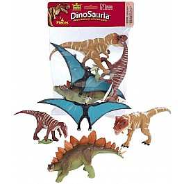 Polybag of Dinosaur Figurines