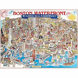 1000pc Puzzle - Boston, MA Waterfront