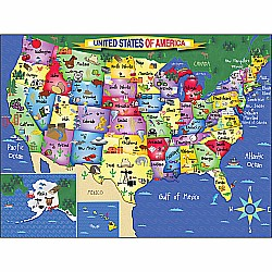 300pc Puzzle United States of America