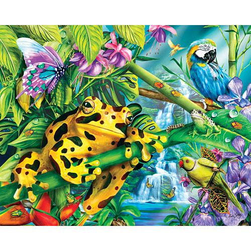 Rainforest Friends - 100 PC Kids Puzzle - Frames Games