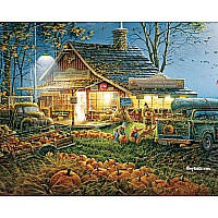 Autumn Traditions EZ Grip Puzzle - White Mountain Puzzles