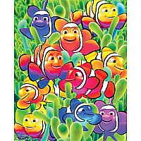 Cute Clowns Kids Jigsaw Puzzle - White Mountain Puzzles
