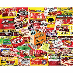 Bacon 101-1000 Pieces Puzzle-White Mountain Puzzles