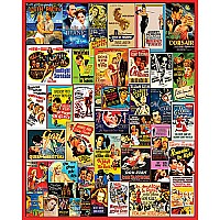 Movie Posters Jigsaw Puzzle-White Mountain Puzzles
