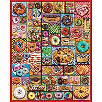 Donuts & Pastries 1000 Pc Puzzle