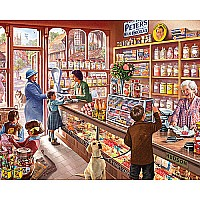 Old Candy Store (1000 pc) White Mountain