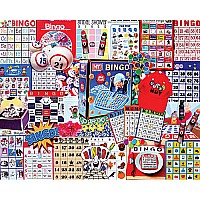 Bingo Jigsaw Puzzle-1000 PC JIGSAW -White Mountain Puzzles