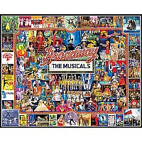 Broadway - 1000 Pieces puzzle-White Mountain Puzzles