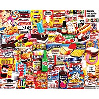 White Mountain Puzzles Things I Ate As A Kid Puzzle 1000 Piece Puzzle