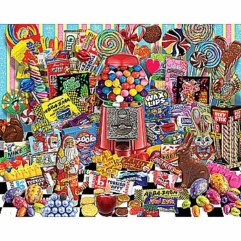 Candy For All Season's -White Mountain Puzzles