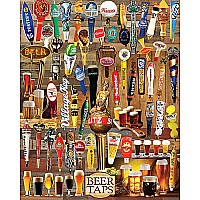 Beer Taps Puzzle-White Mountain Puzzles