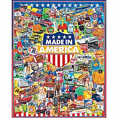 Made In America -1000 Piece Puzzle-White Mountain Puzzles