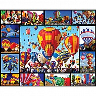 Hot Air Balloons-1000 Piece Puzzle