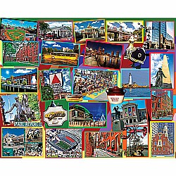 1000pc Puzzle - Boston Collage